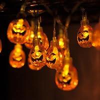 Lampe de Toilette MAXAH Lampe de Toilette Veilleuse de détection pour Halloween détecteur de mouvement pour Cuvette Siège changeant de 8 couleurs automatiquement LED Motion Sensor Toilet Bowl Light