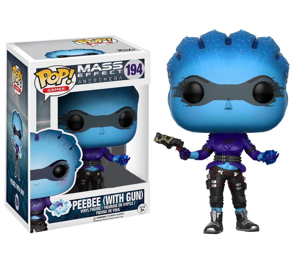 Funko - Figura Pop Mass Effect peebee Gun: Amazon.es ...