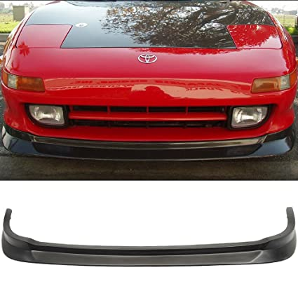 Front Bumper Lip Fits 1991-1999 Toyota MR2 | Black PU Front Lip Finisher Under