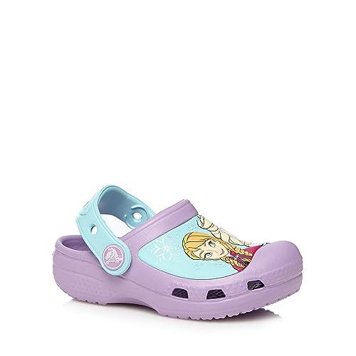 Crocs - Zapatillas de Material Sintético para niña Morado morado: Crocs: Amazon.es: Zapatos y complementos