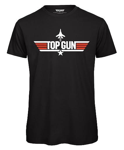 Top Gun 80s Movie T-shirt, black, S to XXL