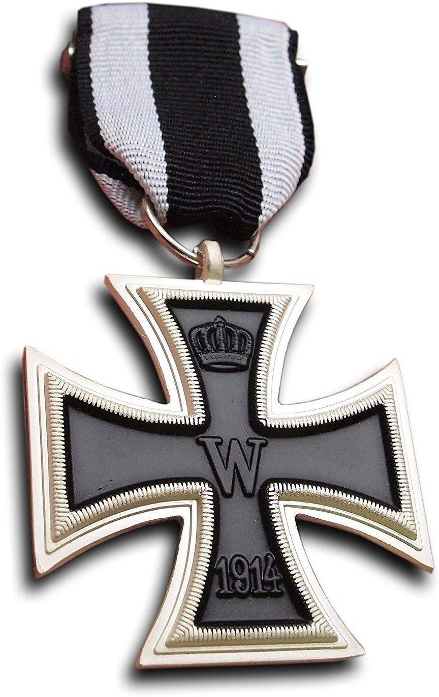 Cruz de Hierro 2 Clase - Medalla Alemana Primera Guerra Mundial 1914 / REPRO