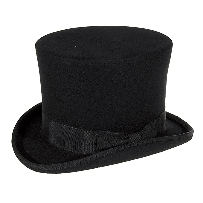 Major Wear Cappello Cilindro Alto (Nero) - Large  Amazon.it ... e56607967fe6