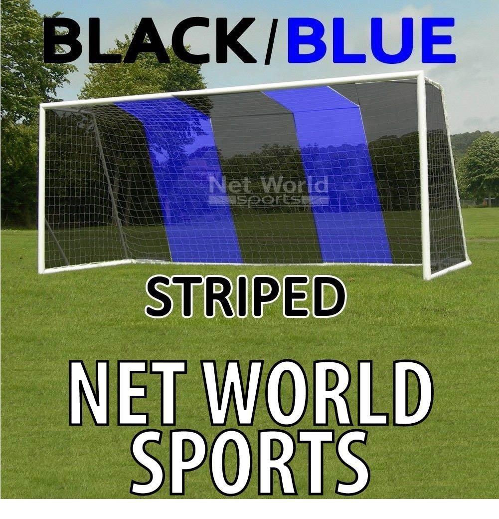 Hochwertiges Tornetz, Tornetz, Tornetz, 7,3 x 2,4 m Schwarz Blau, mit oberer Tiefe [Net World Sports] 41172c
