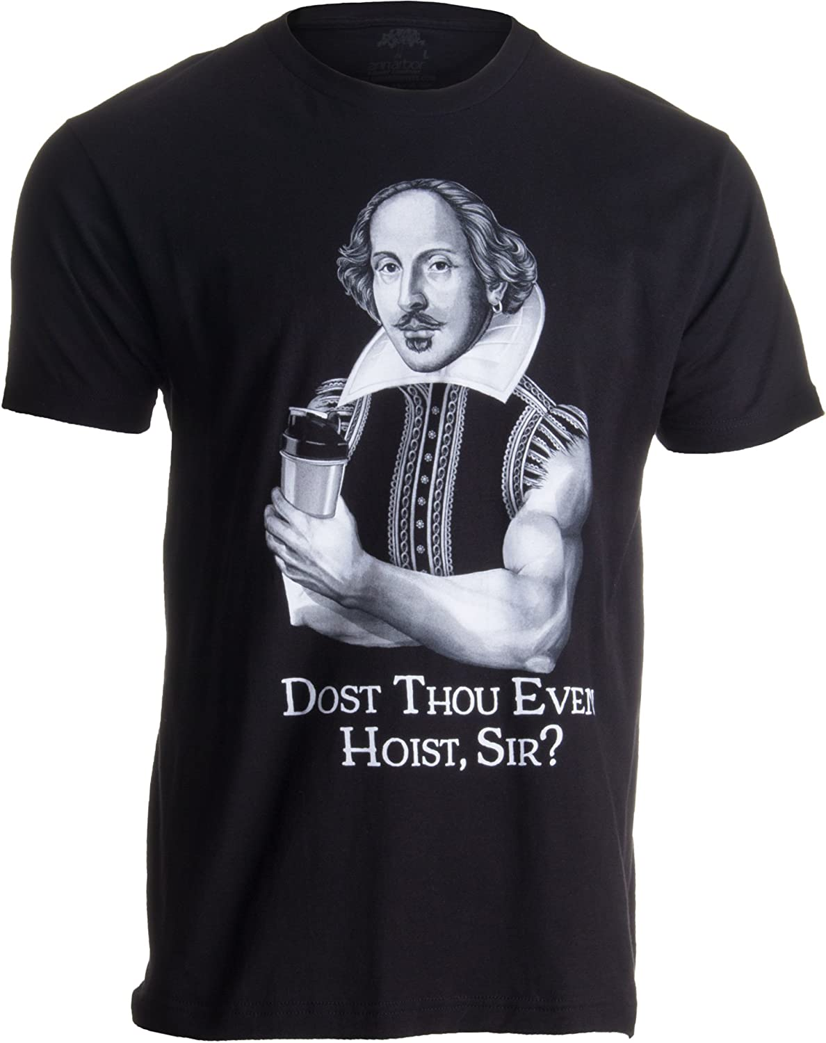Funny Workout Weight Lifting Shakespeare Gym Tank Top Dost Thou Even Hoist Sir