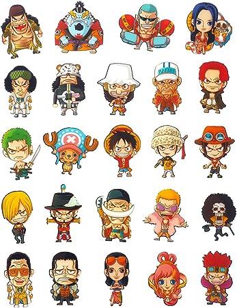 CoolChange 24 imanes con los Personajes Chibi de One Piece: Amazon.es: Juguetes y juegos