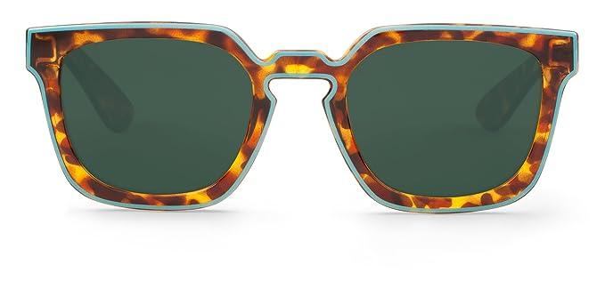 Mr. Boho | Salesas | Blue / Cheetah Tortoise - Gafas de sol para hombre y mujer