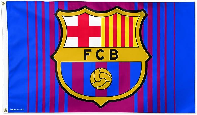 Wincraft FC Barcelona - Bandera internacional de fútbol (tamaño 3x5): Amazon.es: Jardín