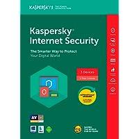 Kaspersky Internet Security 20183Dispositivo/1año [Código de tecla] (3-users)