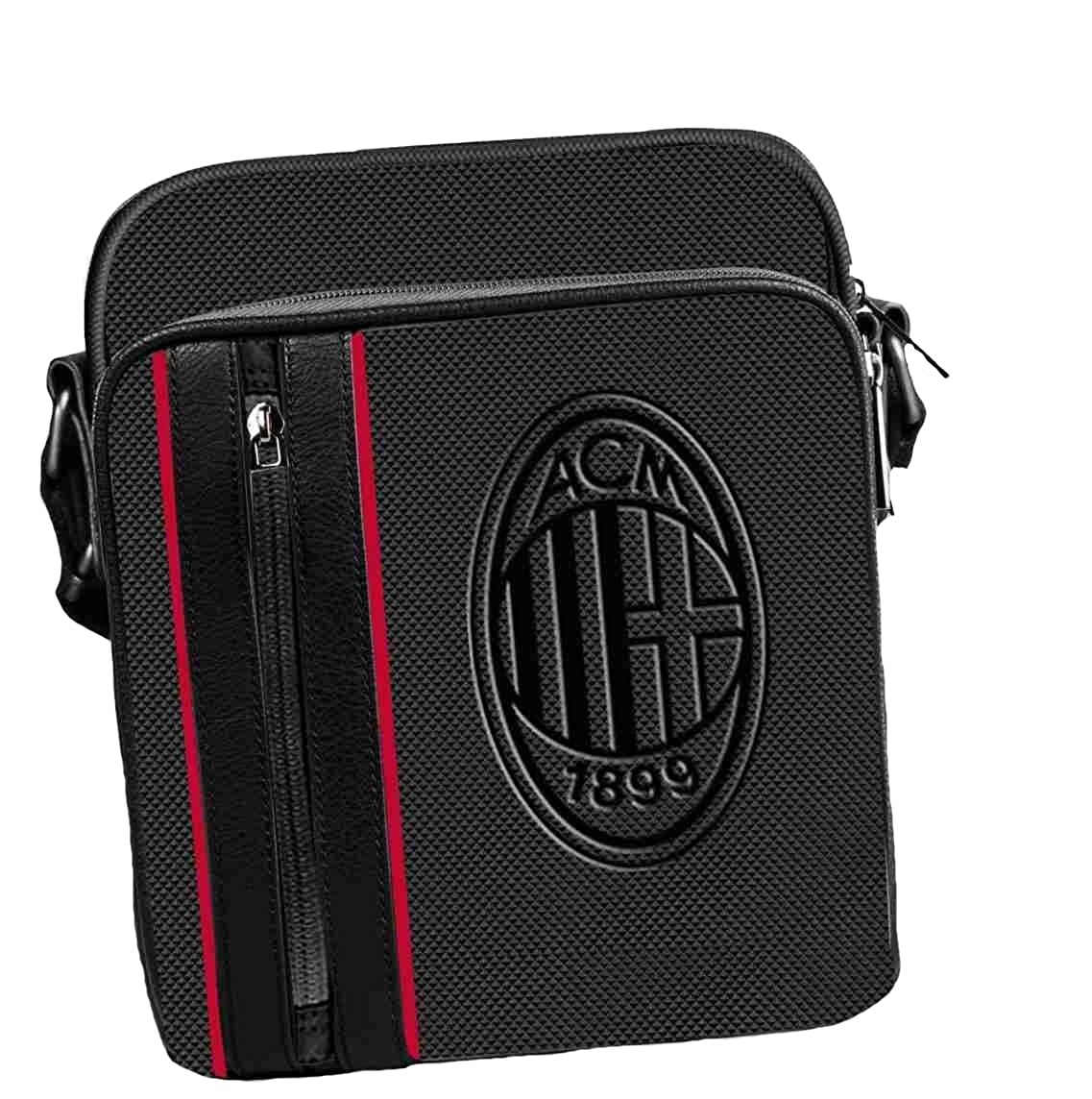 Milan Borsello Uomo Grande Tracolla Ufficiale AC Milan Calcio PS 08404