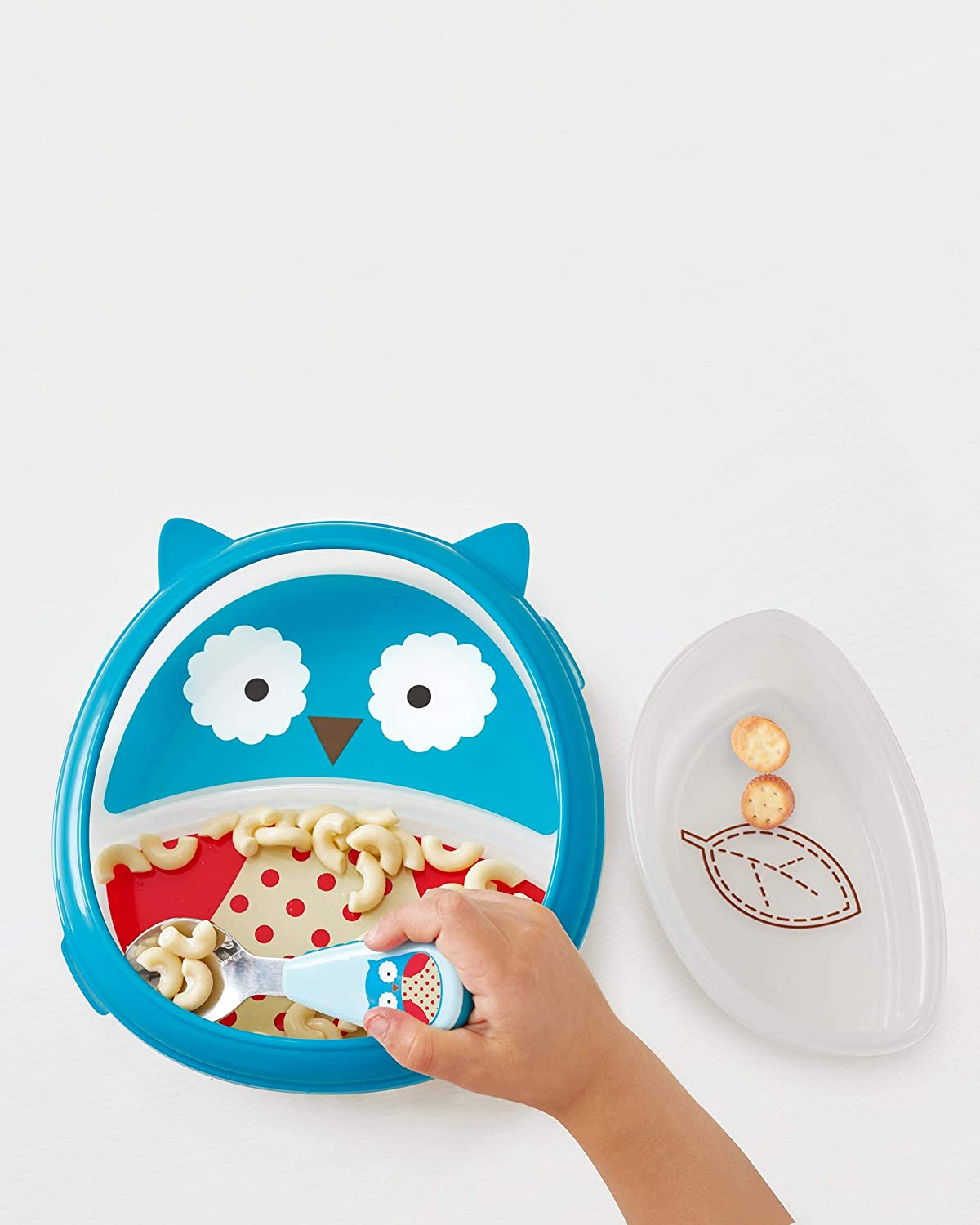 Skip Hop Baby Plate and Bowl Set Blue//Red//White