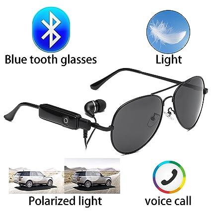 Amazon.com: Bluetooth Wireless Invisible Auricular anteojos ...