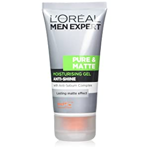 L'Oreal Men Expert Pure & Matte Anti-Shine Gel Moisturiser 50ml