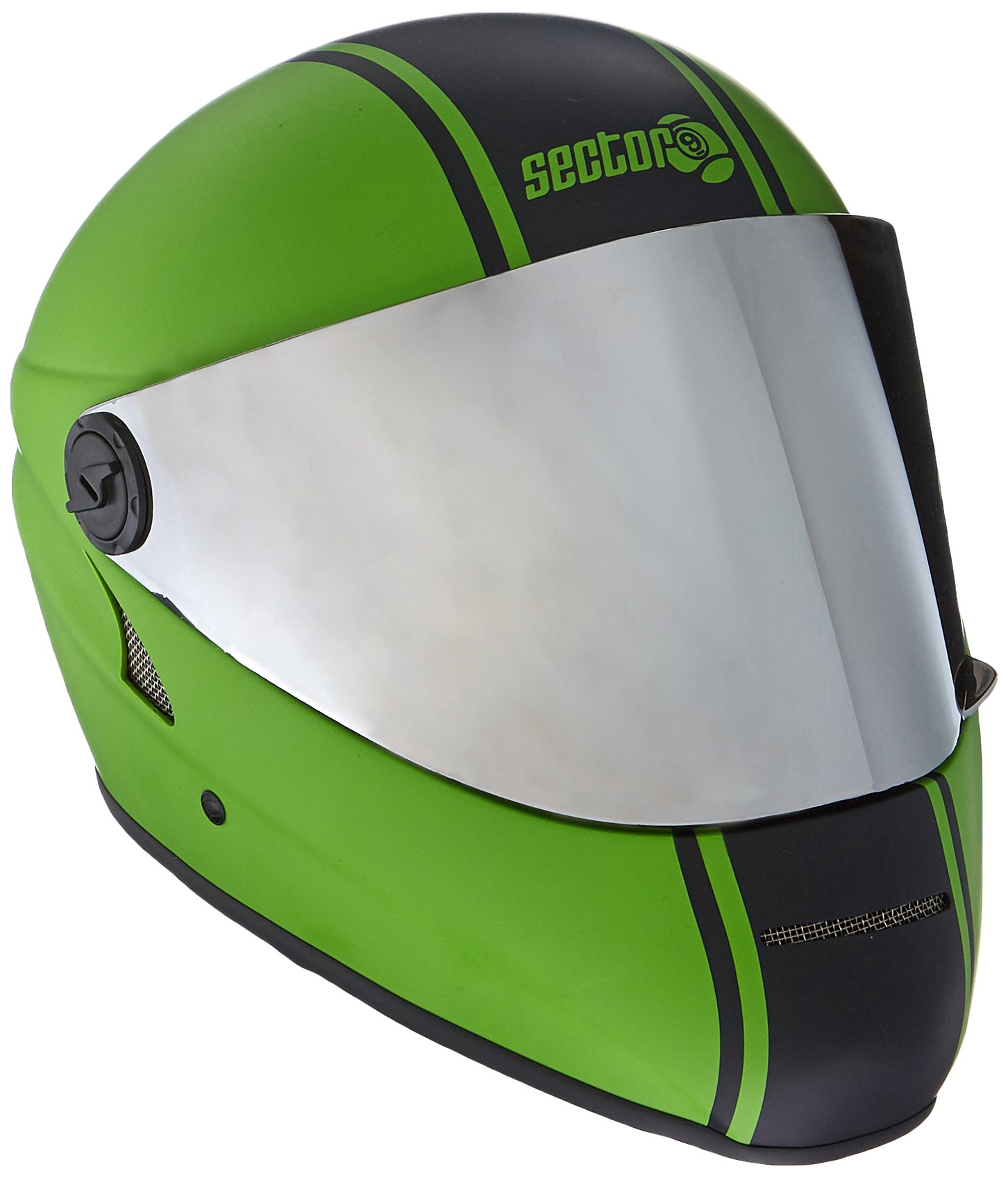 Sector 9 Channel Downhill Full Face Helmet, Green by Sector 9