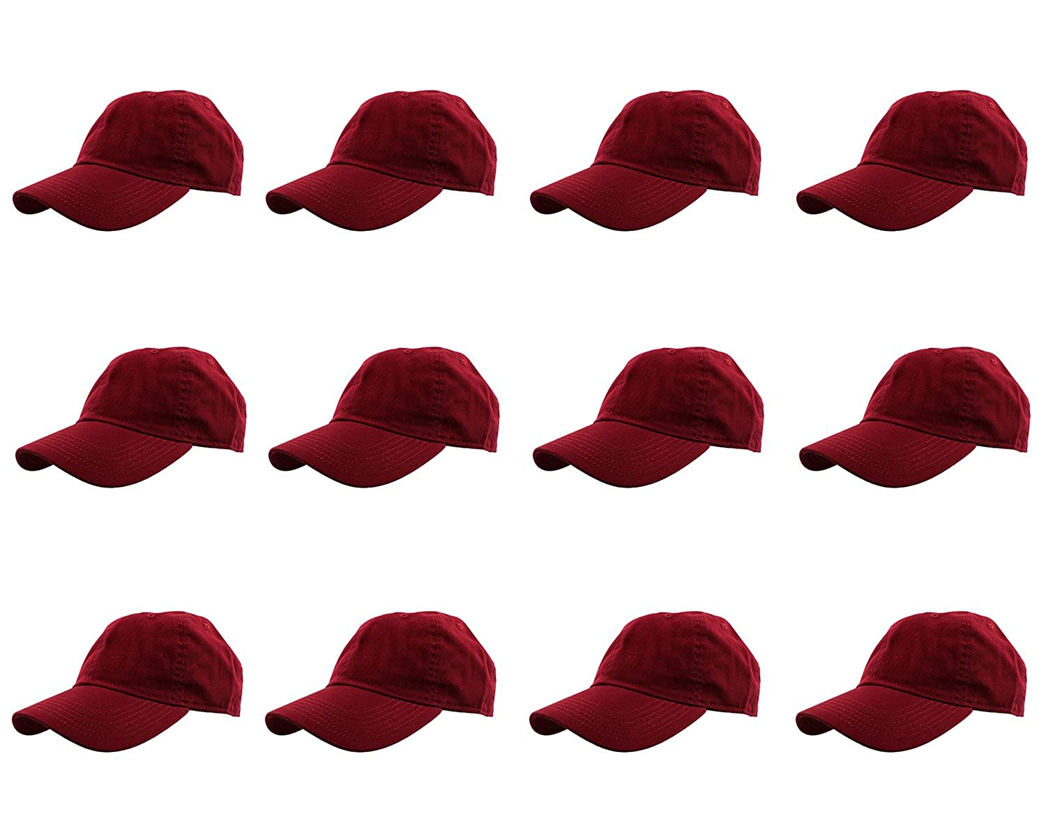 79a25f6b5a7e3b Gelante Baseball Caps 100% Cotton Plain Blank Adjustable Size Wholesale LOT  12 Pack (Army Green) at Amazon Men's Clothing store: