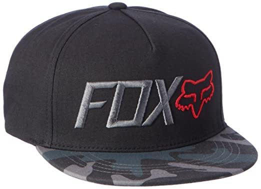 25a10d88 Fox Youth Obsessed Snapback Cap, Black Camo, One Size: Amazon.co.uk ...