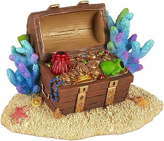 Miniatura Jardín de hadas sirena cofre del tesoro: Amazon.es: Hogar