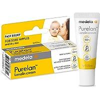Medela Medela Purelan Lanolin Cream 7g | Nipple Cream to Relieve Sore and Cracked Nipples | Suitable for Breastfeeding…