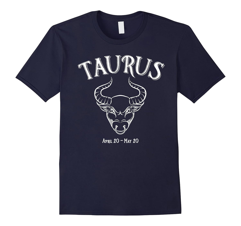 Taurus Zodiac Birth Sign Bull T shirt-CD