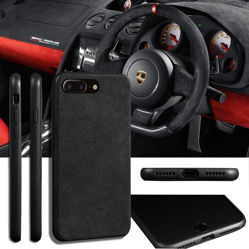 c6862a57bfe Luxury Super Slim Leather Alcantara Suede Durable Protective Cover ...