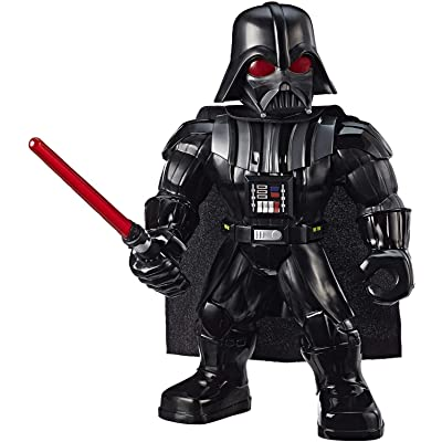 """Star Wars Galactic Heroes Mega Mighties Darth Vader 10\"""" Action Figure with Lightsaber Accessory, Toys for Kids Ages 3 & Up: Toys & Games [5Bkhe0404546]"""