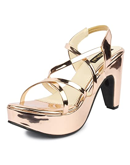 cbfeaa0fb82f Do Bhai Glass Fashionable   Stylish Heels for Women  Buy Online at ...