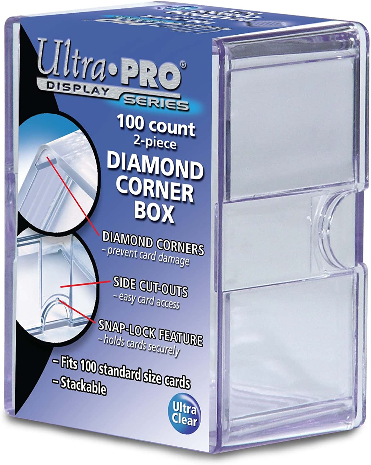CASE OF 50 400 Count Trading Card Storage Boxes