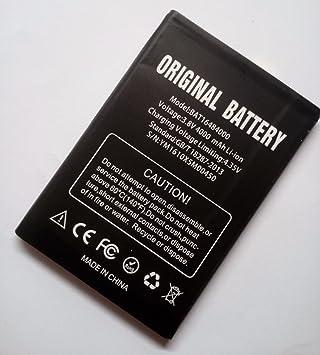 Batería para Doogee X5 Max, X5 Max Pro - 4000mAh: Amazon.es: Electrónica