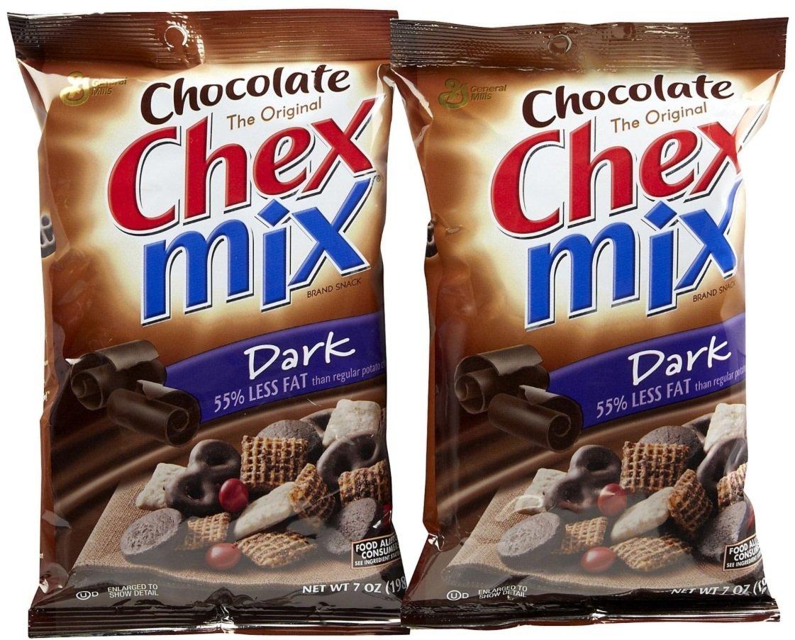 Chex Mix Select Dark Chocolate, 7 oz, 2 pk