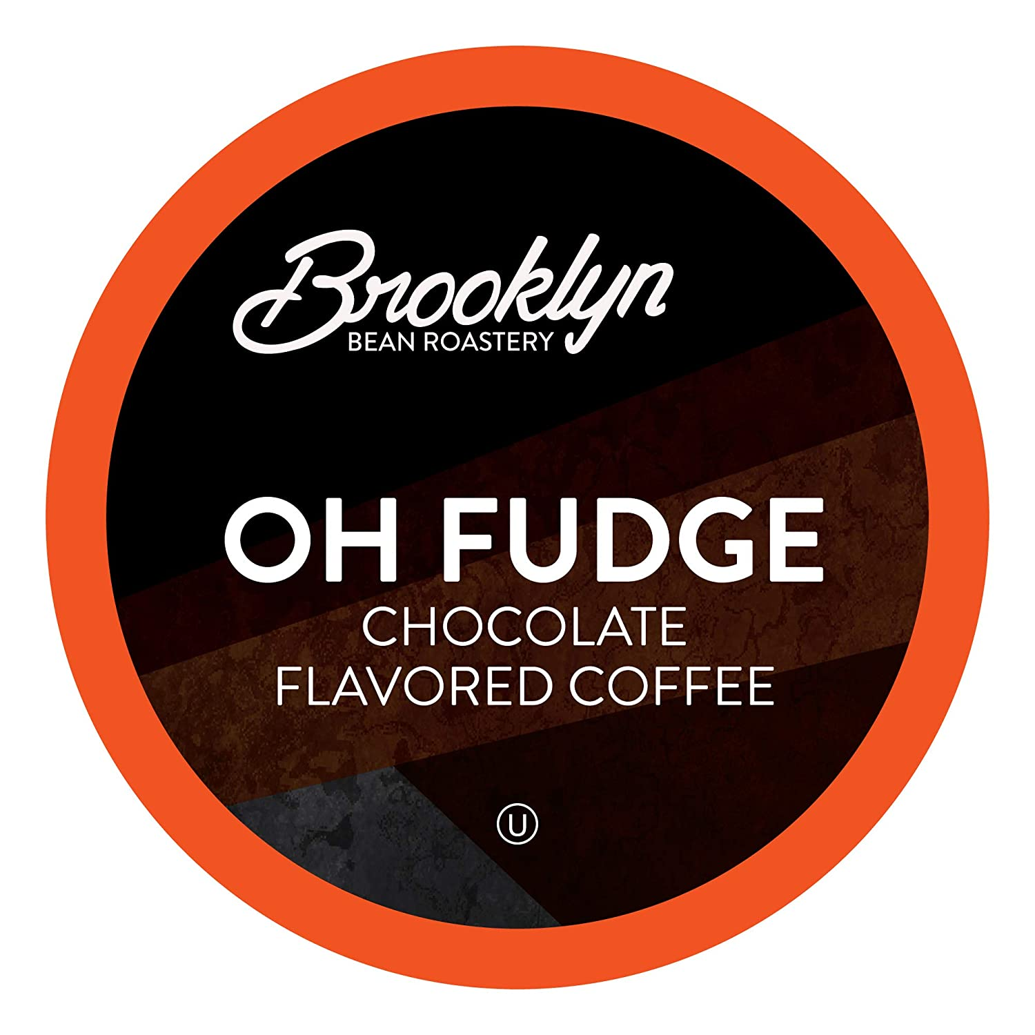 Brooklyn Beans Oh Fudge Coffee Pods, Compatible with 2.0 K-Cup Brewers, 40 Count