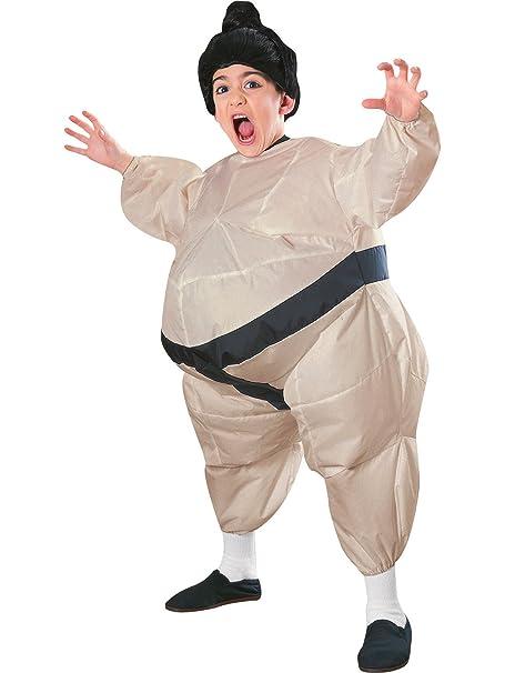 Amazon.com: Niño Disfraz de sumo hinchable – niño STD., 6 ...