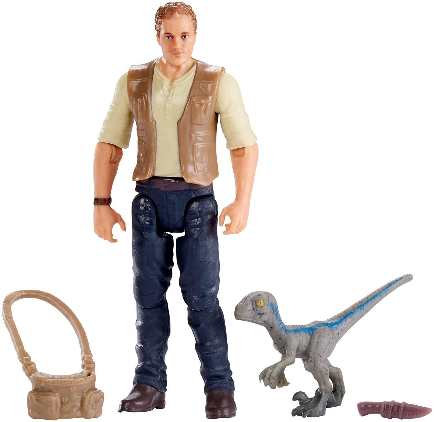 Jurassic World Basic Figure Owen & Baby