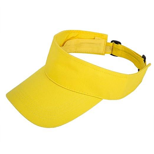 3eb308f9b8a36 TARTINY Unisex Premium Visor Cap - Lightweight & Comfortable Sun Protector  Hat - Ideal For Sports