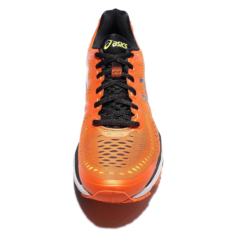 Asics Kayano Hommes Gel Orange Kayano 23 ame Flamme Orange Gel/ Noir/ Sécurité Jaune Orange b8ea5f5 - edil-idraulica.info