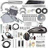 Yaheeda 80CC Bicycle Engine Kit,Motorized Upgrade Bike 2-Stroke Conversion Kit,DIY Petrol Gas Engine Bicycle Motor Kit…