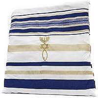 Messianic Oración Shawl–Messianic sello Zuluf cristiana signo talit