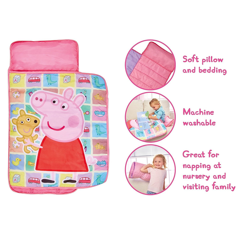 Amazon.com: Peppa Pig Nap Mat 18 Months +: Toys & Games