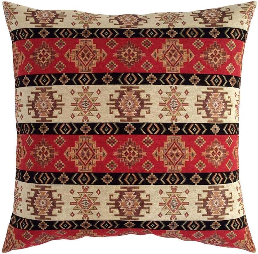 pillowerus Tapestry Gobelin Red-Cream 22