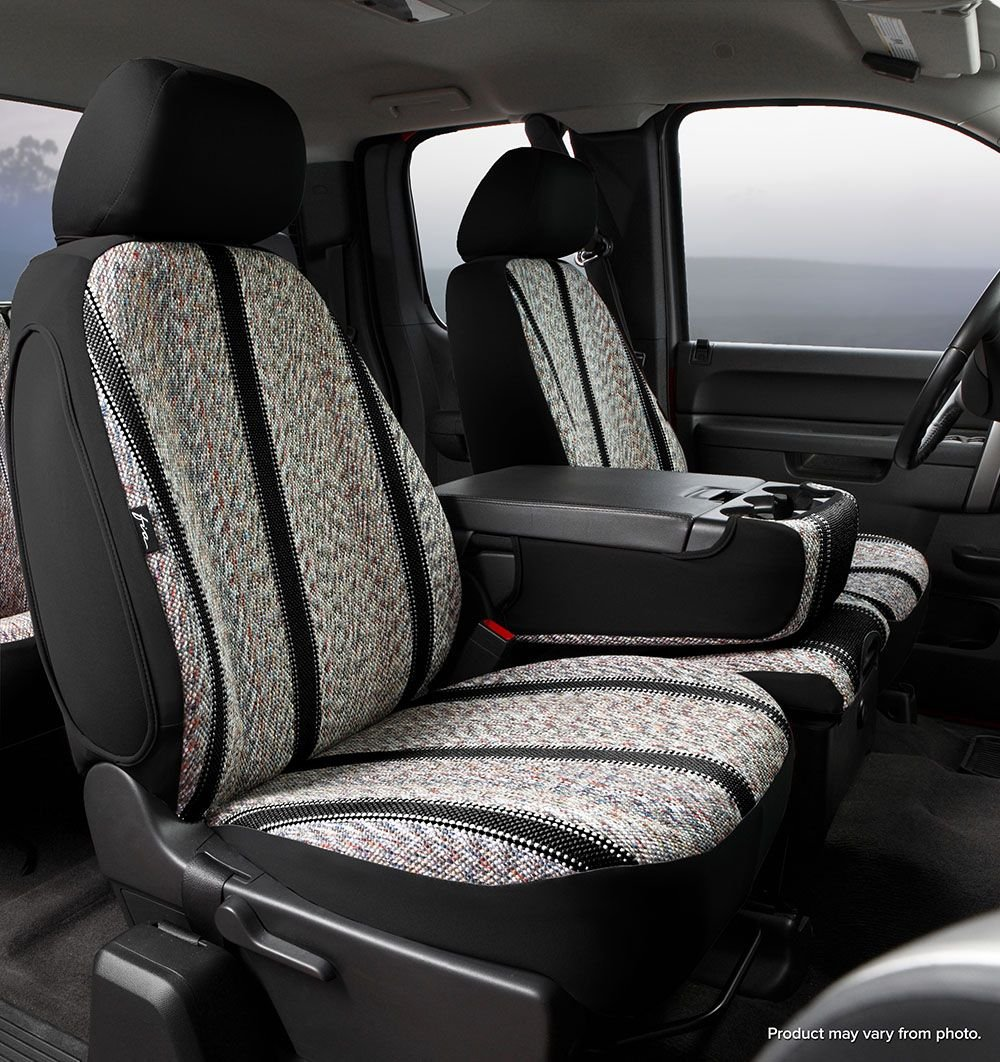 Fia OE39-29 CHARC Custom Fit Front Seat Cover Split Seat 40//20//40 Tweed, Charcoal