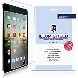 iLLumiShield - Apple iPad mini 4 Screen Protector + (HD) Blue Light UV Filter / Premium Clear Film / Anti-Fingerprint / Anti-Bubble Shield - [2-Pack]& Lifetime Warranty