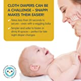 [Boy 3 pack] Snappi Cloth Diaper Fasteners
