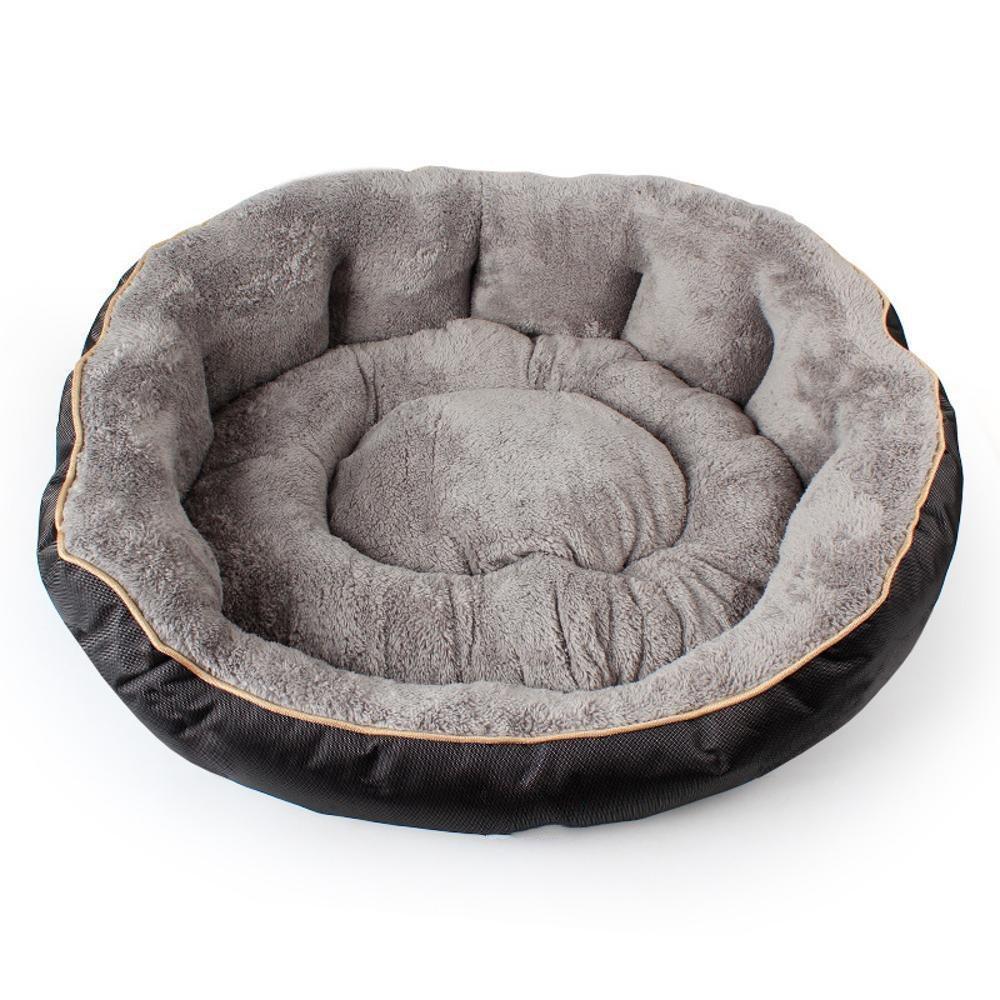 Kennel Pads Dog Beds Pet mat Oxford Cloth Large Kennel Arctic Velvet Dog Mat 90  75  25cm Cat Bed Pet Supplies Cover