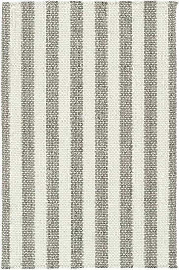 Capel Rugs Nags Head Vertical Stripe Rectangle Flat Woven Area Rug 8 X 11 Dove Gray Stripe Furniture Decor