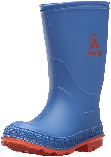 Kamik Jungen Stomp Gummistiefel, Blau (Blue/Orange), 31 EU