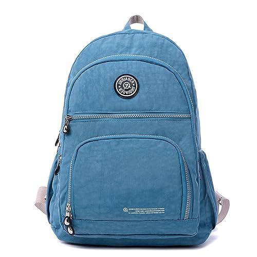 Outreo Mochilas Mujer Casual Ligero Bolso Escolares Daypack Impermeable Bolsos de Moda Escuela Bolsas de Viaje Sport Bag para Colegio Libro Backpack: ...