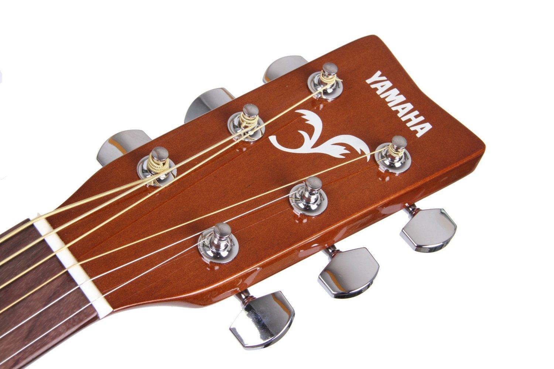 Yamaha FX310AII - Guitarra acústica con cuerdas metálicas (madera, tipo dreadnought), color natural: Amazon.es: Instrumentos musicales