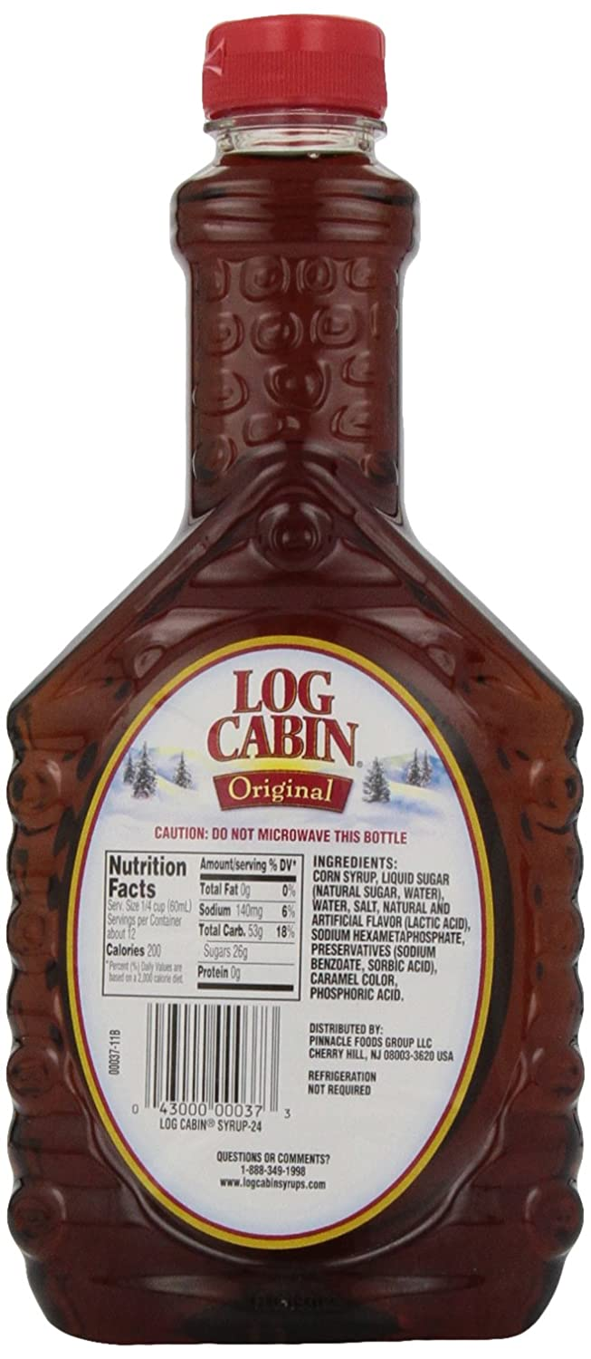 Amazon log cabin syrup original 24 oz maple syrups amazon log cabin syrup original 24 oz maple syrups grocery gourmet food ccuart Images