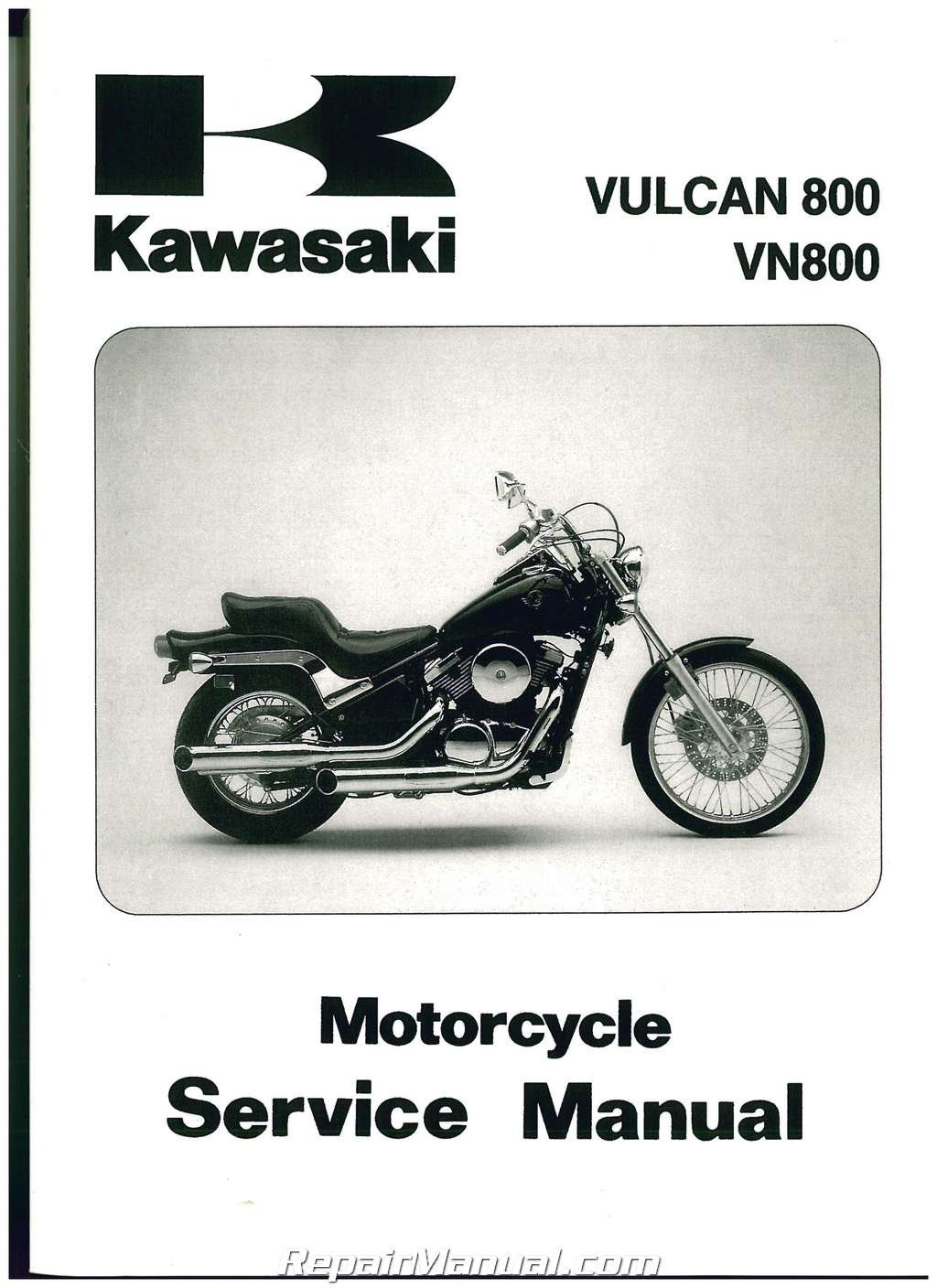 99924-1183-09 1995-2005 Kawasaki VN800 Vulcan Service Manual: Manufacturer:  Amazon.com: Books