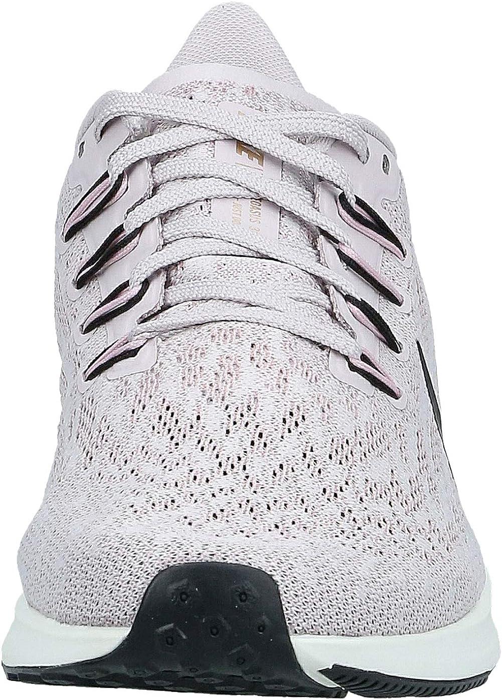 Nike Women's Air Zoom Pegasus 36 Running Shoes Platinum Violet Black Plum Chalk Sail