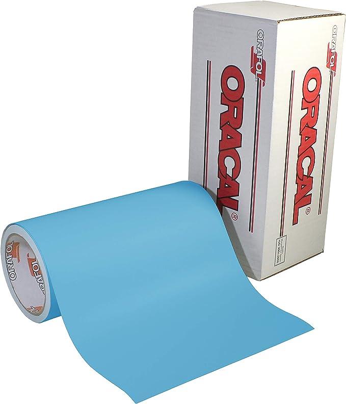 12 x 6ft VViViD Blue Low-Tack Adhesive Vinyl Stencil Masking Film Roll